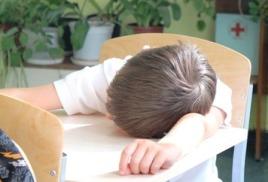 Режим сна современных детей - есть о чем подумать.